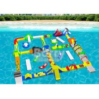 China Open Water Inflatable Floating Water Park Adventures For Adults And Kids on sale