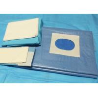 Quality Cardiovascular Split Disposable Sterile Surgical Drapes Infection Control Single Use for sale