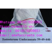 Quality 99% White crystalline powderMale Bodybuilding Supplements  Steroids Testosterone Undecanoate/ 5949-44-0 for sale