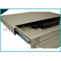Quality FC / PC 24 Port Fiber Patch Panel Rack Mount 70KPa - 106KPa Atmosphere Pressure for sale