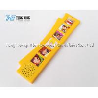 Buy cheap Orange Durable Button Sound Book Baby sound chips for cards from wholesalers