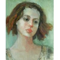 Quality portrait painting europe female painting for sale