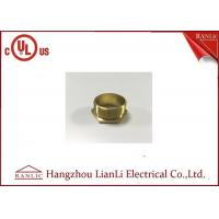China BSI Stahdard Brass Lock Nut Male / Female Bush GI Thread Hexagon Type on sale