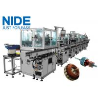 Quality RAL9010 Electric Motor Production Line Armature Auto Winding Machine for sale