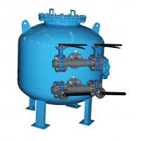 China Fish Farming Bypass Shallow Pool Sand Filters for Circulating Water treatment on sale
