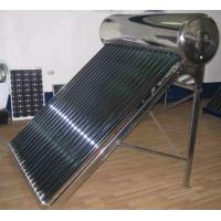 China 120L non-pressurized color steel solar water heater system on sale