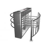 Quality Indoor / Outdoor Use Mechanical Half Height Turnstile Gate Rainproof With Single / Bi-Direction for sale