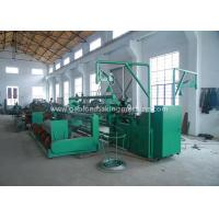 Quality 9.6kw Automatic Chain Link Fence Machine 4000mm Width With PVC Coated Wire for sale