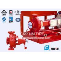Quality NFPA20 Standard End Suction Fire Pump 250GPM@100PSI Ductile Cast Iron Casing for sale