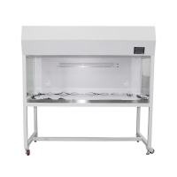 Quality Class 100 cleaning laminar flow hood with a light switch and a socket. for sale