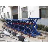 Quality Metal Industry Stationary Hydraulic Lift , High Strength Steel Manual Lift Table for sale