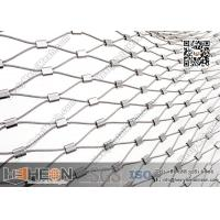 Buy cheap 316L Stainless Steel Ferrule Wire Rope Mesh Netting | China Factory Direct Sales from wholesalers