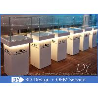 Quality Custom Jewellery Shop Display Cabinet / Middle Standing Jewelry Display Showcase for sale