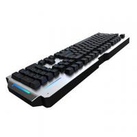 Quality RGB Metal Mechanical Keyboard 104 Keys Waterproof Blue Switch Anti Ghosting for sale