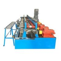 Quality 20 Steps Door Frame Roll Forming Machine , Cold Roll Forming Equipment With Hydraulic Cutting for sale