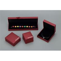 Quality Plastic Struction  Jewelry Display Box Set In Recycled Leatherette Paper for sale