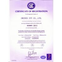 Orchid Ivy Co,.LTD Certifications