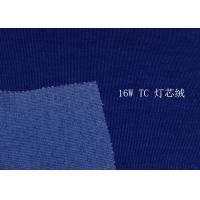 Buy 14W 16W 23W Courful Soft T/C Spandex Corduroy , Blue Red Purple at wholesale prices