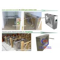 Quality Scenic Entrance Three Arm Tripod Turnstile gate automation systems For School And Tourism for sale