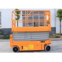 Quality 10m Mini Scissor Lift Auto Brake System Movable Foldable High Rise System for sale