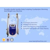 Quality Body Sculpting Cryolipolysis Slimming Machine Portable Style Weight Loss Machine for sale