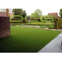 Quality Affordable Waterproof Artificial Grass Garden 30mm Pile Height Fade - Resistant for sale