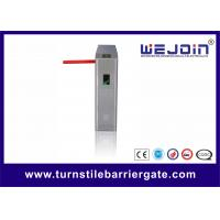 Quality Full Automatic Stainless Steel Turnstile Gate With RS232 Interface For Railway Station for sale
