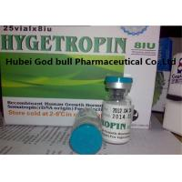 Buy cheap Medical HGH Anabolic Steroids Hygetropin 8iu / vial 25 vials / kit Gene Secretory Expression Technology from wholesalers