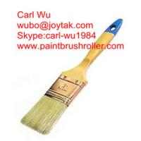 Natural pure bristle Chinese bristle synthetic mix paint brush wood handle plastic handle 2 inch PB-015
