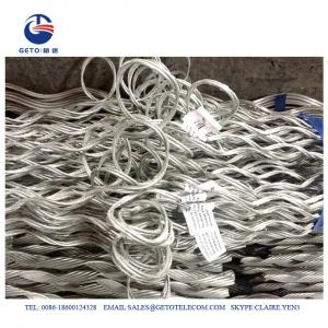 Quality ISO 9001 Galvanized Steel 6mm ADSS Suspension Clamp for sale