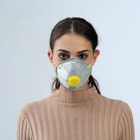 Buy cheap Customized Disposable Dust Mask , FFP1/ FFP2 Cup Mask With Valve from wholesalers