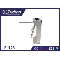 Quality Drop Arm Optical Barrier Turnstiles Tripod Security Gates For University Dormitory for sale