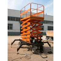 China High rise manual hydraulic lift platform Safety with anti - slip Table , 3.0kw on sale