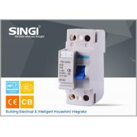 Buy F362 RCCB Residual Current Circuit Breaker , 2P , 4P earth fault Circuit Breaker at wholesale prices