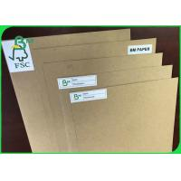 Quality FSC Reporting Virgin Pulp 450gsm Brown Kraft Liner Paper For Wrapping for sale