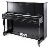 Quality Curved Leg Polished Acoustic Upright Piano Wooden Piano 123cm AG-123B3 for sale