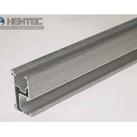 Quality Solar Rail / solar panel roof mounting hardware Polished , Silver Anodizing for sale