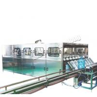 Quality Hot Sale  Automatic 5 gallon Water Pet Barrel Filling Machinery Mineral water plant for sale