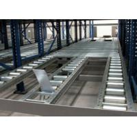 Quality Steel roll conventional stacking Gravity Live Pallet Rack for sale