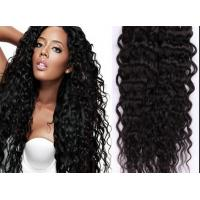 Quality Full Lace Black Indian Curly Human Hair Wigs 30 Inch Body Wave human hair for sale