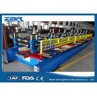 Buy cheap 18 Rows Garage Door Metal Roll Forming Machines 8M - 12M / Min Production Capacity from wholesalers