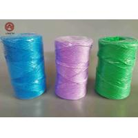 Quality Colorful Polypropylene Tying Twine 1.5KG Per Spool For Farm And Greenhouse for sale