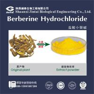 Buy cheap 633-65-8 high quality 97% bulk berberine hydrochloride from wholesalers