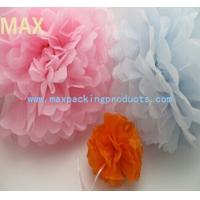 China 2015 Hot sale!!! Colorful decoration tissue paper pom poms on sale