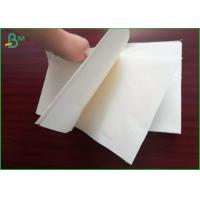 Quality Size Customized Woodfree Paper Roll 80gsm 75gsm Uncoated White Creamy Paper for sale