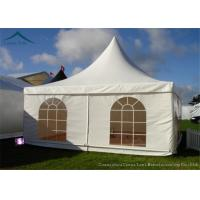 Quality Business Solutions Pagoda Tents PVC Fabric For  4m * 4m Flame Retardant for sale