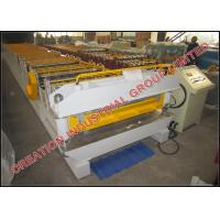 Quality Double Layer Corrugated 900/1000mm Metral & Normal Aluminium Roofing Sheet Corrugating Machine for sale
