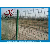 Quality Commercial Horizontal Fence Panels , Holland Wire Mesh PVC Coated for sale