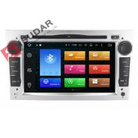 Quality Silver Panel Opel Corsa Dvd Player , Android Bluetooth Car Stereo With Google Maps for sale
