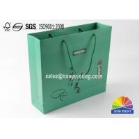Buy cheap Matt Laminated Custom Eco Friendly Paper Gift Bags For Health Care Product from wholesalers